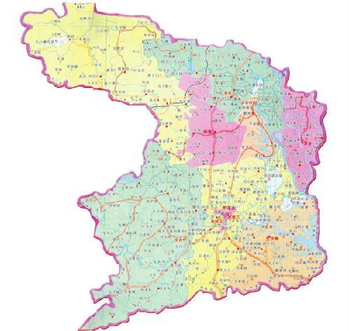常德城区交通地图